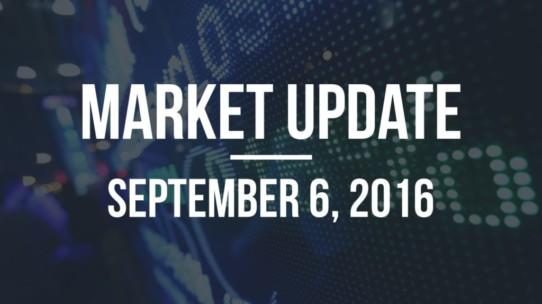 Market Update – September 6, 2016